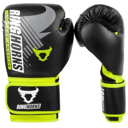 Ringhorns Charger MX Boxing Gloves Black Yellow