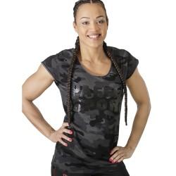 Paffen Sport Black Camo Lady T-Shirt