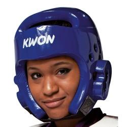 Kwon PU Kopfschutz WT blau