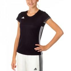 Adidas T16 Team T-Shirt Damen Schwarz Weiss AJ5301