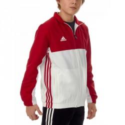 Abverkauf Adidas T16 Team Jacke Kids Power Rot Weiss AJ5324