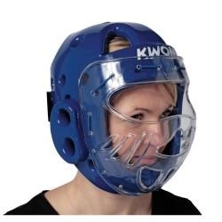 Kwon KSL Kopfschutz WT mit Visier blau