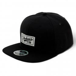BOXHAUS Brand Sairon06 Snapback Cap Label black