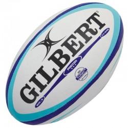 Gilbert Rugby Ball Photon Sky Blue Gr.5