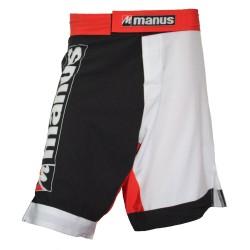 Manus MMA Shorts Schwarz Weiss