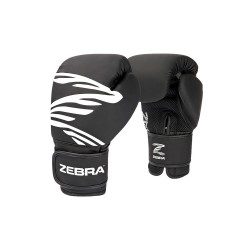 ZEBRA Boxhandschuh FITNESS Training black KIDS