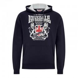 Lonsdale East Kilbride Herren Sweatshirt Dark Navy