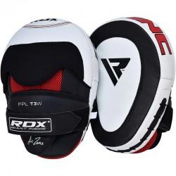 RDX Focus Pad GEL T3 Leder weiss