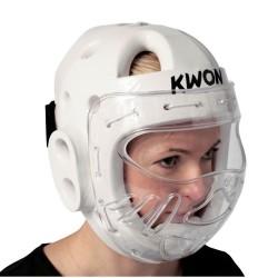 Kwon KSL Kopfschutz WT mit Visier weiss