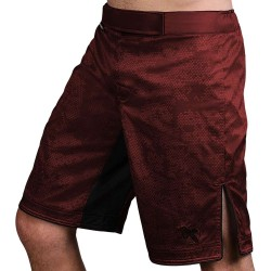 Hayabusa Hexagon Fight Shorts Burgundy