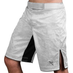 Hayabusa Hexagon Fight Shorts White