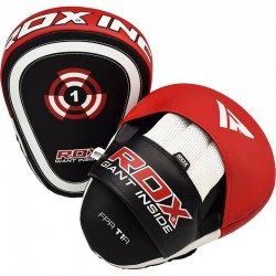 RDX Focus Pads CURVE T1 rot schwarz Paar