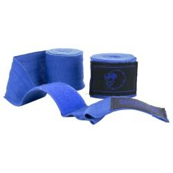 Super Pro Boxbandagen Blau 450cm