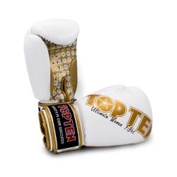 Top Ten Woman Boxhandschuhe Weiss Gold
