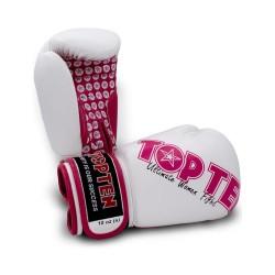 Top Ten Woman Boxhandschuhe Weiss Pink