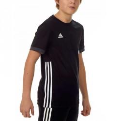Adidas T16 Team T-Shirt Kids Schwarz Weiss AJ5297