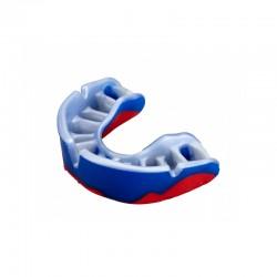 OPRO Zahnschutz Platinum blau mattrot