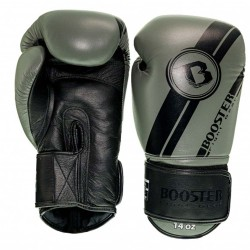 Booster BGL V3 New Boxhandschuhe Black Grey Leder