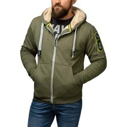 Hayabusa Arctic Heavyweight Zip Hoody Green
