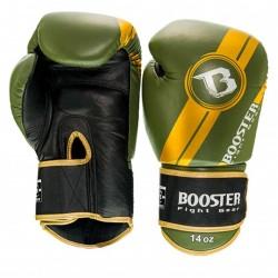 Booster BGL V3 New Boxhandschuhe Black Green Leder