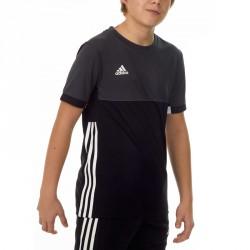 Adidas T16 Climacool T-Shirt Jungen Schwarz Grau AJ5432