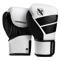 Hayabusa S4 Youth Boxing Gloves White