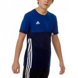 Adidas T16 Climacool T-Shirt Jungen Navy Royal Blau AJ5433