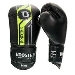 Booster BGL V9 Boxhandschuhe Black Neon Leder