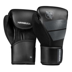 Hayabusa S4 Youth Boxing Gloves Black