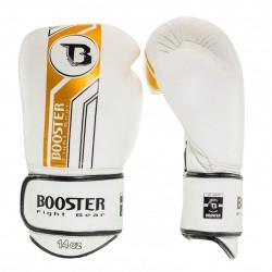 Booster BGL V9 Boxhandschuhe White Gold Leder