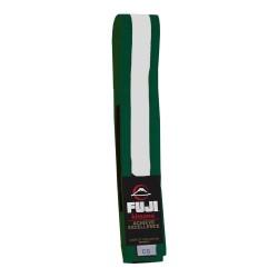 Fuji BJJ Belt Kids Green White