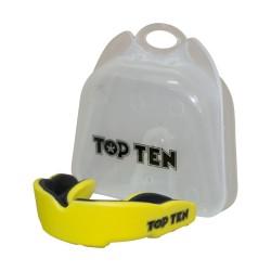 Top Ten Zahnschutz Combat TPR Gelb Schwarz