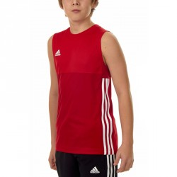 Adidas T16 Climacool SL T-Shirt Jungen Power Scarlet Rot AJ5234