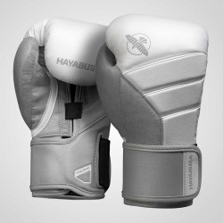 Hayabusa T3 Boxing Gloves White Grey