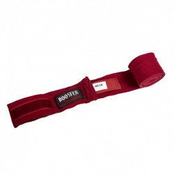 Booster Boxbandagen Halbelastisch 460cm Wine Red
