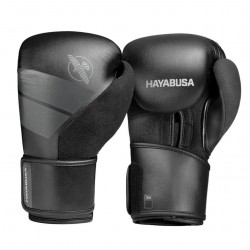 Hayabusa S4 Boxing Gloves Black