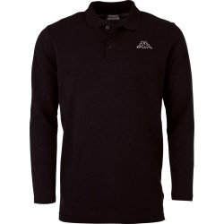Kappa Talek Polo Shirt LS Black