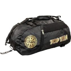 Top Ten Wako Rucksack Tasche Schwarz Gold 67cm