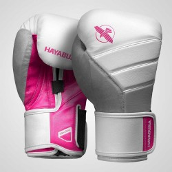 Hayabusa T3 Boxing Gloves White Pink