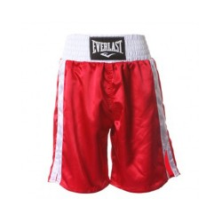 Everlast Pro Boxing Trunks red white 4413