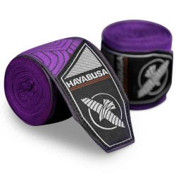 Hayabusa Perfect Stretch Handwraps Purple Lotus
