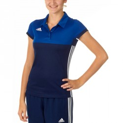 Adidas T16 Climacool Polo Damen Navy Royal Blau AJ5476