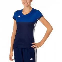 Adidas T16 Climacool T-Shirt Damen Navy Royal Blau AJ5440