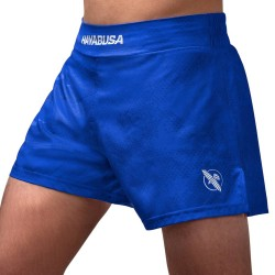 Hayabusa Arrow Kickboxing Short Blue