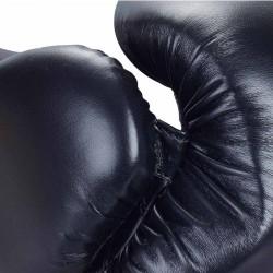ju- Sports C16 Competitor Boxhandschuhe PU 10 Oz Schwarz