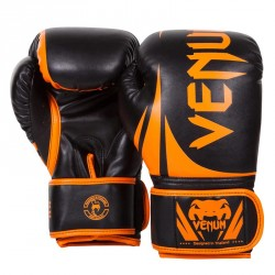 Abverkauf Venum Challenger 2.0 Boxing Gloves Neo Orange Black