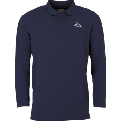 Kappa Talek Polo Shirt LS Navy