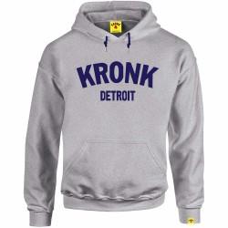 Kronk Detroit Heavyweight Hoodie Grey Melange
