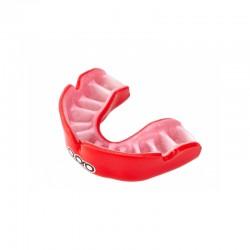 OPRO Zahnschutz PowerFit rot weiss