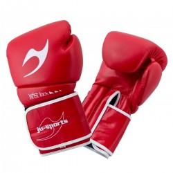 ju- Sports C16 Competitor Pro Boxhandschuhe Leder 10 Oz Rot